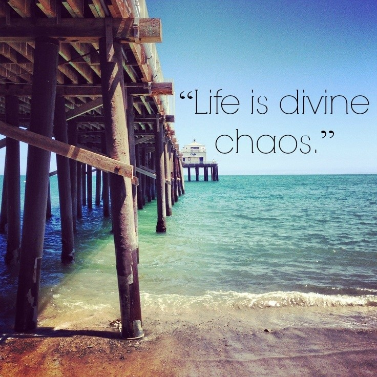 Chaos Quote 2 Picture Quote #1