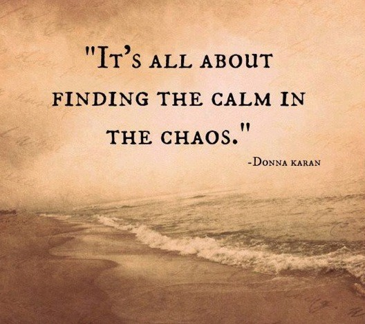 Chaos Quote 4 Picture Quote #1
