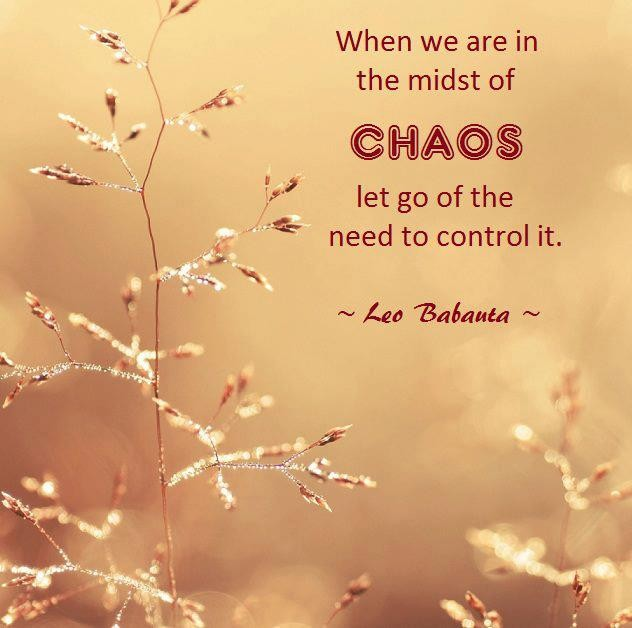 Chaos Quote 3 Picture Quote #1