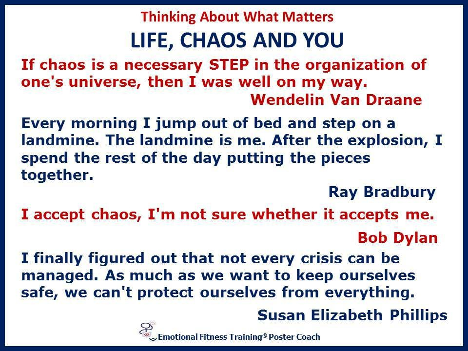 Chaos Quote 8 Picture Quote #1