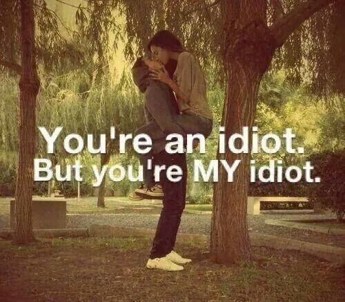Youre An Idiot Quote 1 Picture Quote #1