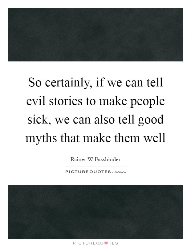 So certainly if we can tell evil stories to make people Can a dirty house make you sick