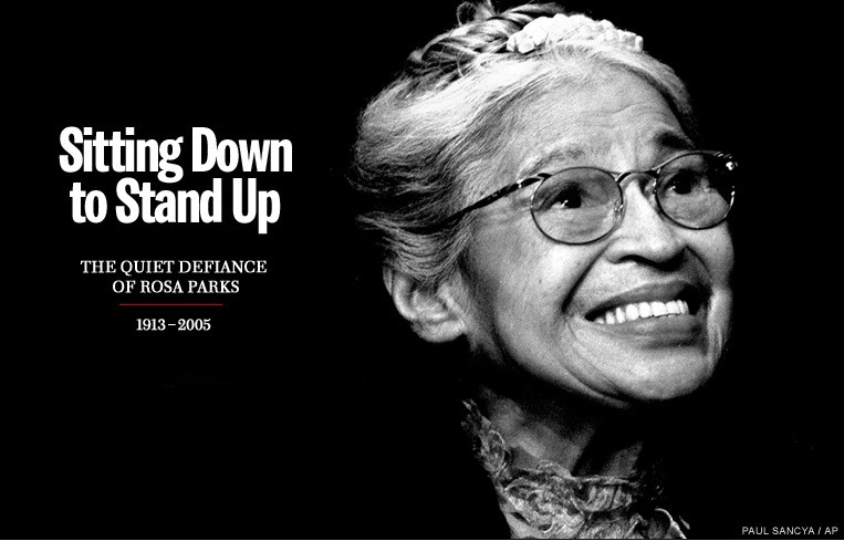 Rosa Parks Black History Quote 1 Picture Quote #1