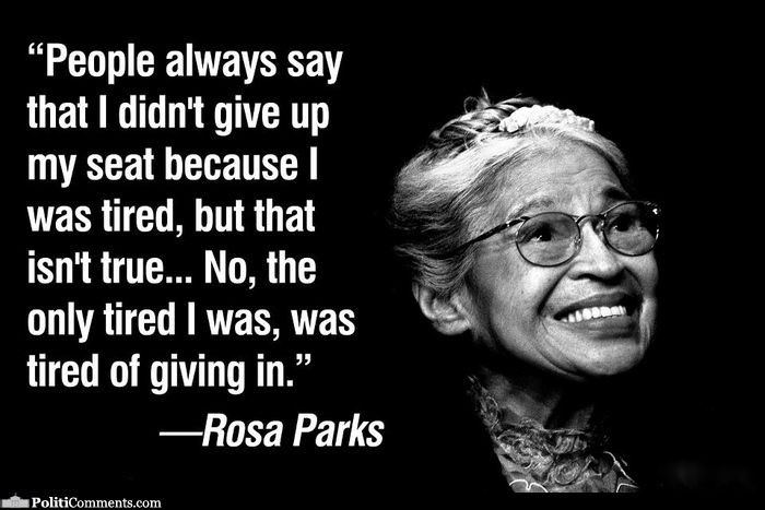 Rosa Parks Black History Quote 2 Picture Quote #1