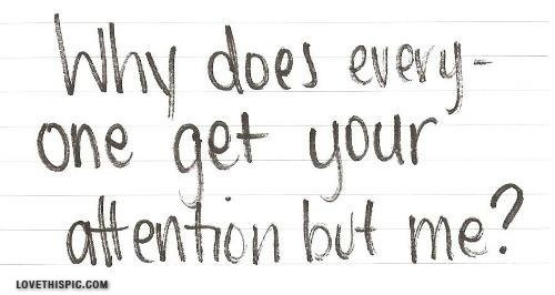 Attention Quote 2 Picture Quote #1