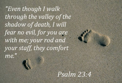 Bible Death Comfort Quote 2 Picture Quote #1
