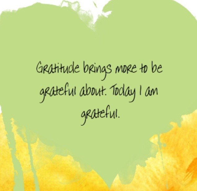 Louise Hay On Gratitude Quote 1 Picture Quote #1