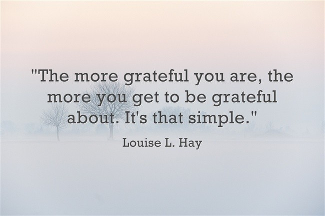 Louise Hay On Gratitude Quote 2 Picture Quote #1