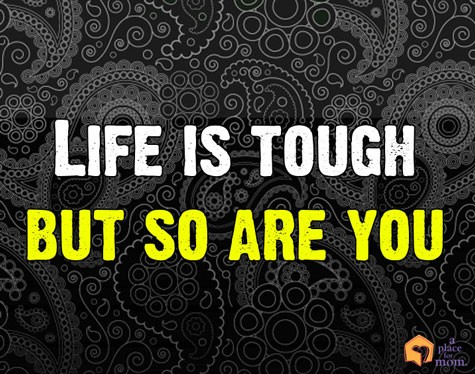 Tough Quote About Life 1 Picture Quote #1