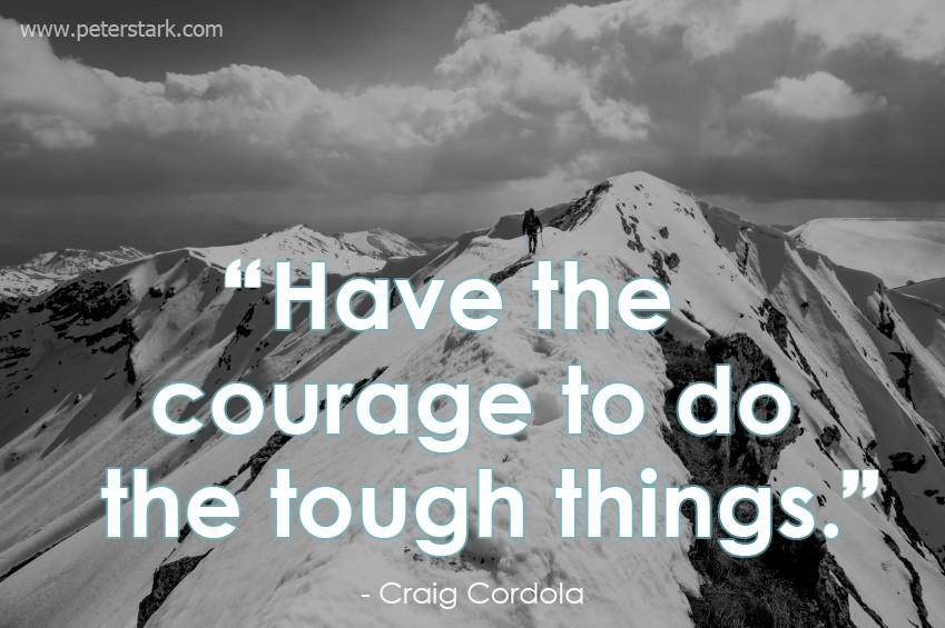 Tough Quote 1 Picture Quote #1