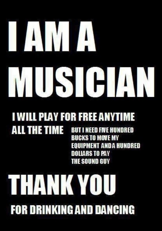 Funny Musician Quote 1 Picture Quote #1