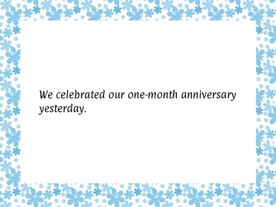 One Month Anniversary Quote For Boyfriend | Quote Number ...
