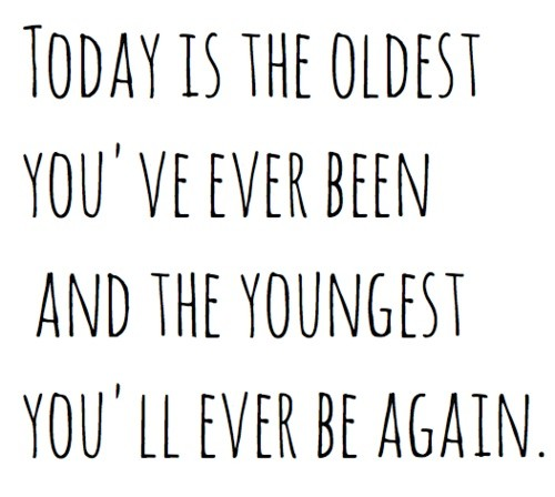 Old Age Birthday Quote 1 Picture Quote #1