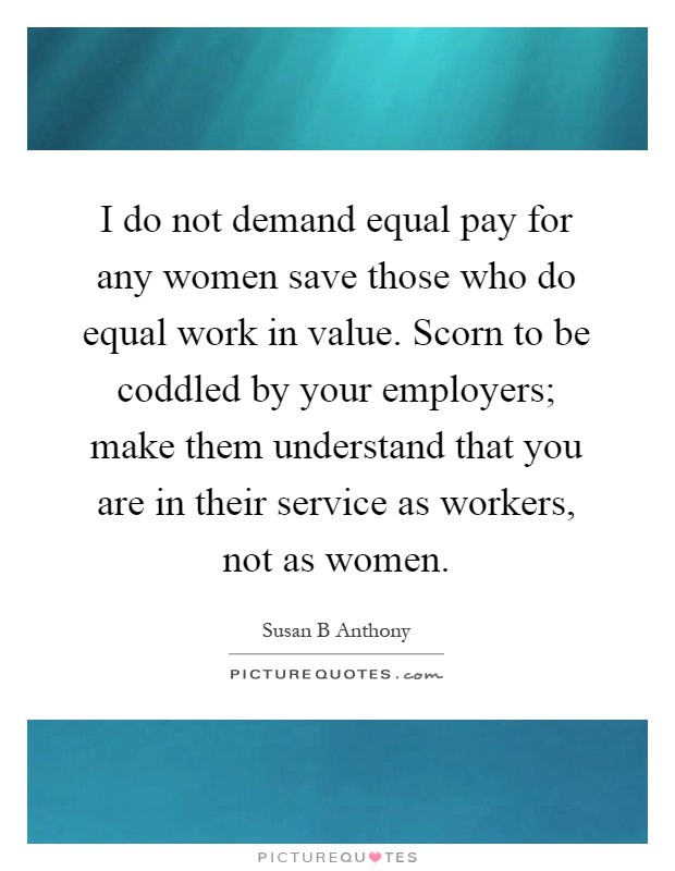 equal pay act assignment essay Home essays equal women, equal pay equal women, equal pay equal pay act assignment essay equal pay act equal pay act assignment hrm6010.