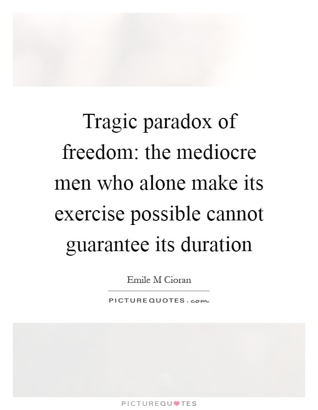 paradoxical tragedy essay Free essay: there are many aspects of theodore dreiser's an american tragedy that involve the moral decision versus the immoral decision and god.