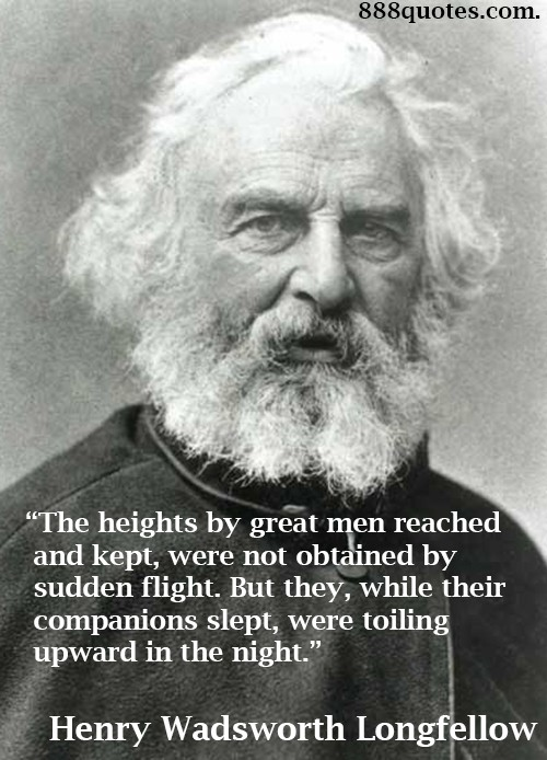 Henry Wadsworth Longfellow Quote 6 Picture Quote #1