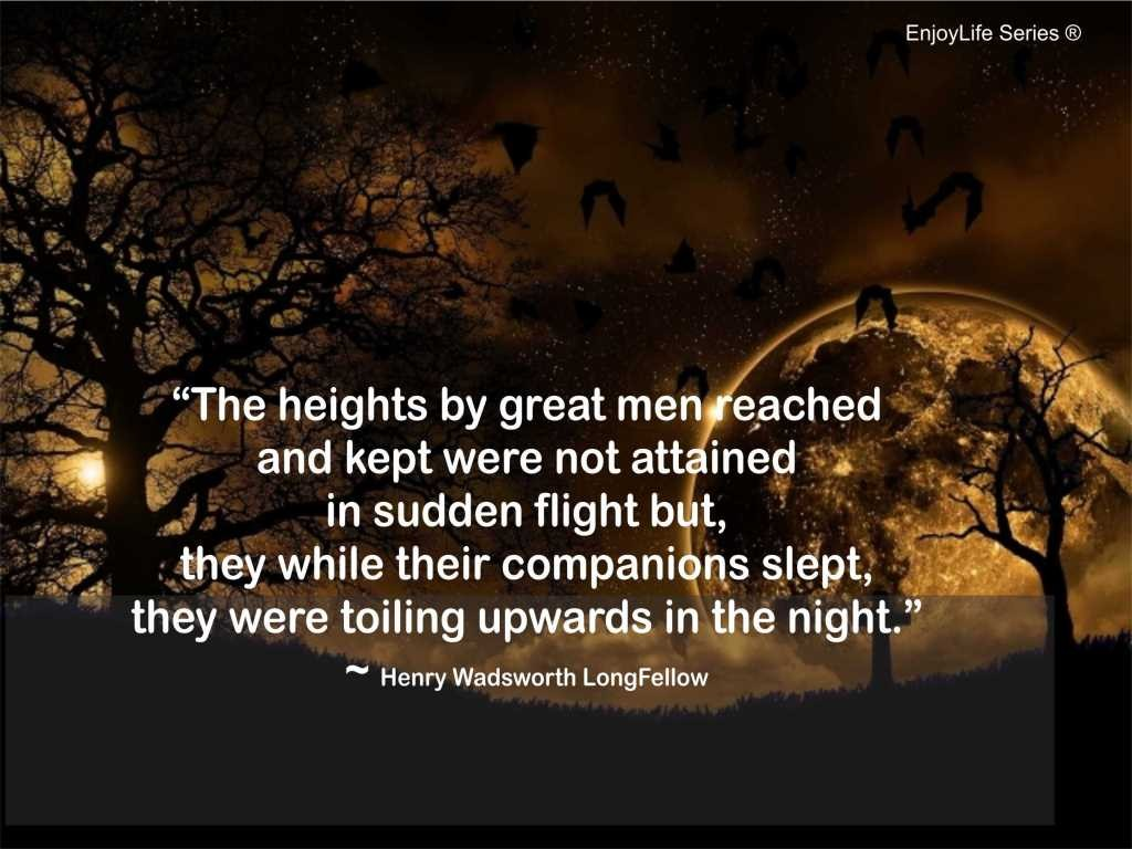 Henry Wadsworth Longfellow Quote 7 Picture Quote #1