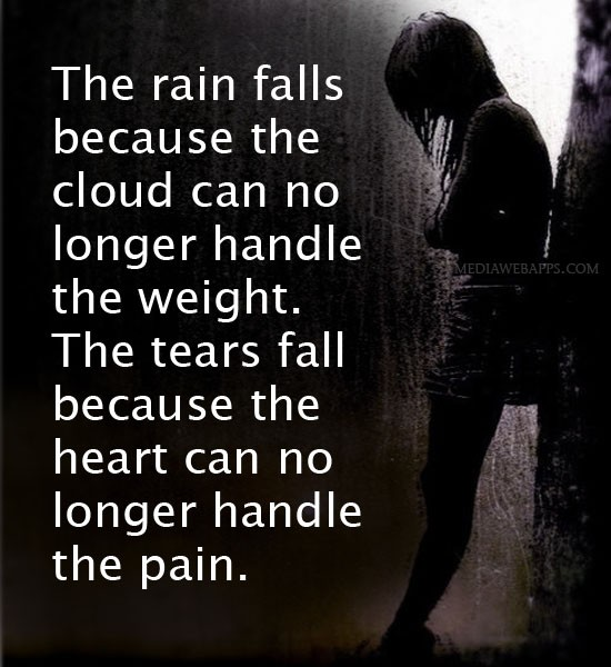 Rain Cloud Quote 1 Picture Quote #1