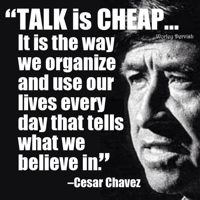 Talk Is Cheap Quote 1 Picture Quote #1