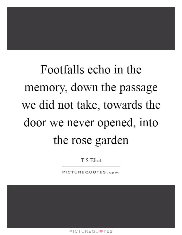 ECHO IN THE MEMORY