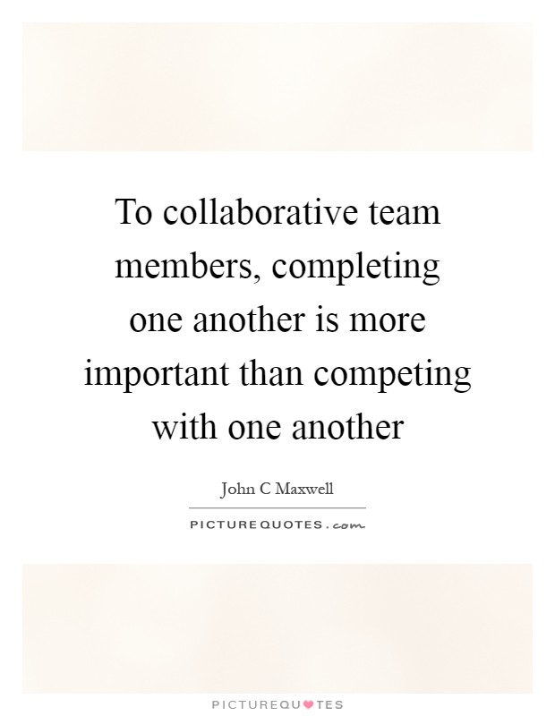importance of uniqueness in team member How diversity makes us smarter  about diversity of disciplinary backgrounds—think again of the interdisciplinary team building a car  also gave each member important clues that only he.