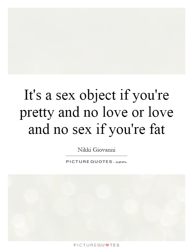 No sex no love