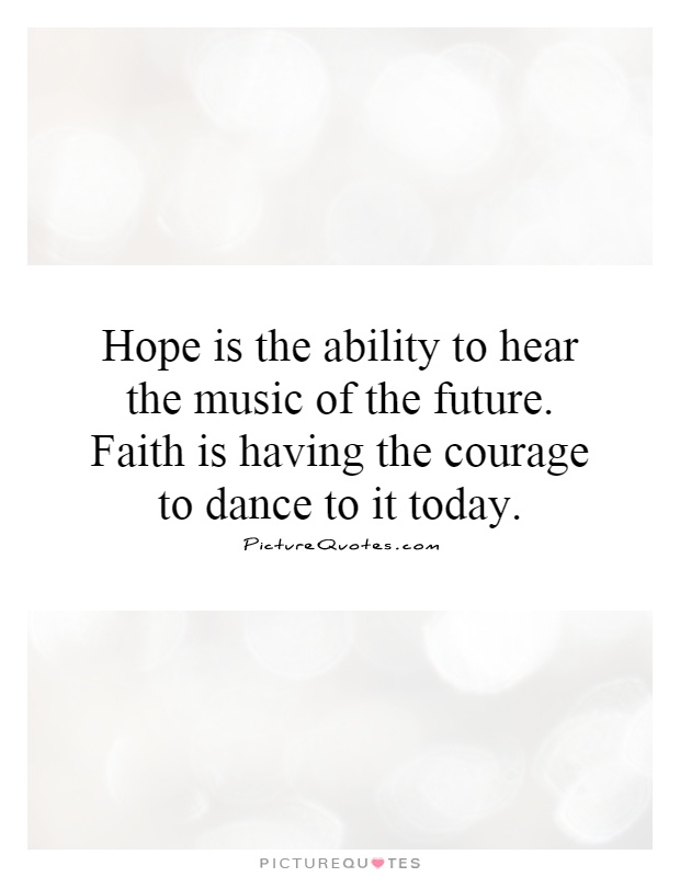 Essay About Hope And Faith