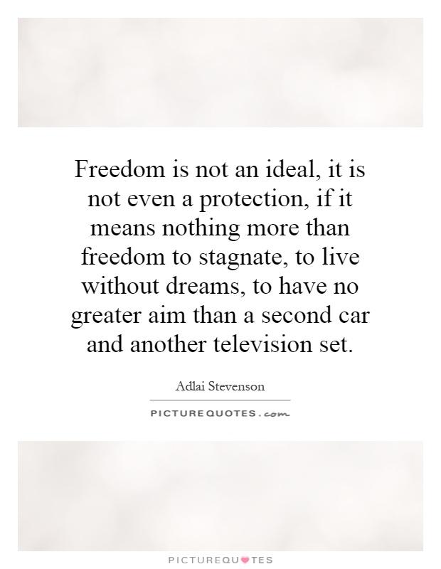 a freedom greater than freedom essay