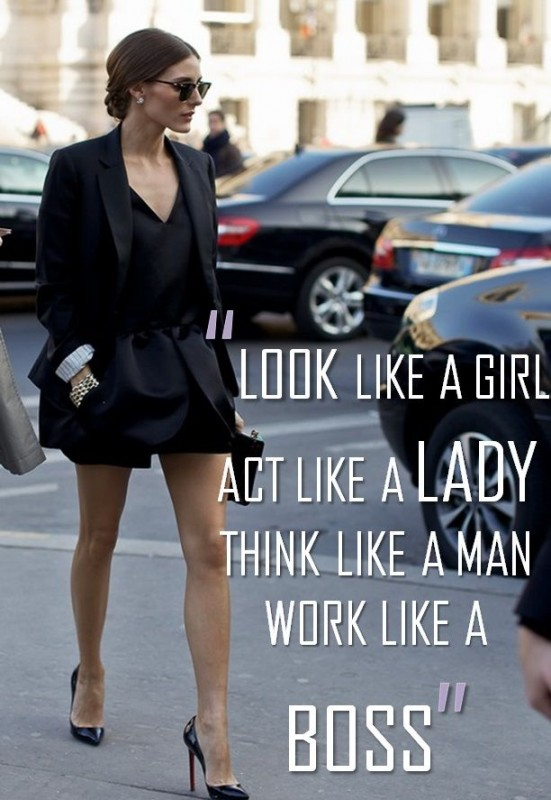 Act Like A Lady Think Like A Man Quote 1 Picture Quote #1