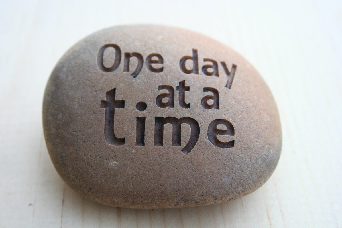 One Day At A Time Quote 5 Picture Quote #1