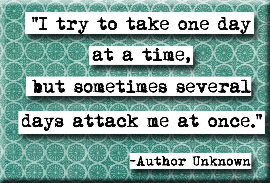 One Day At A Time Quote 10 Picture Quote #1