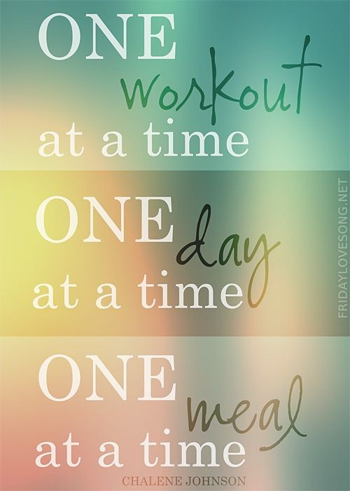 One Day At A Time Quote 11 Picture Quote #1