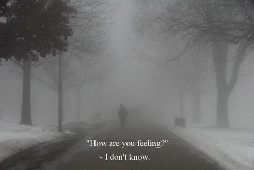 Feelings Of Uncertainty Quote 1 Picture Quote #1