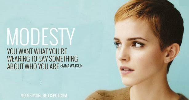 Modesty Quote 6 Picture Quote #1