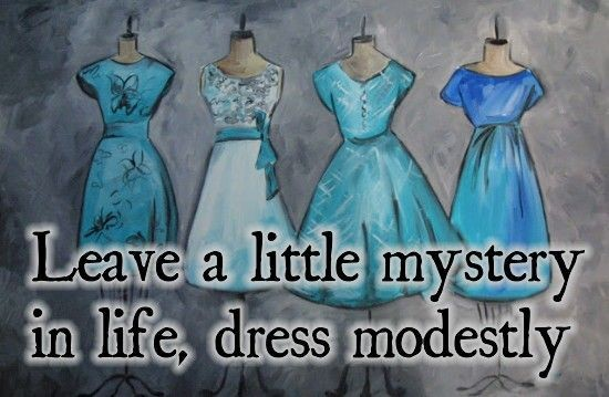 Modesty Quote 9 Picture Quote #1