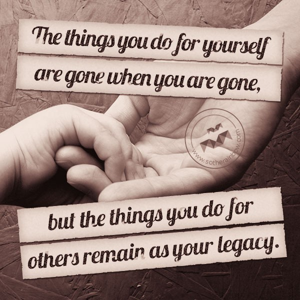 Legacy Quote 7 Picture Quote #1