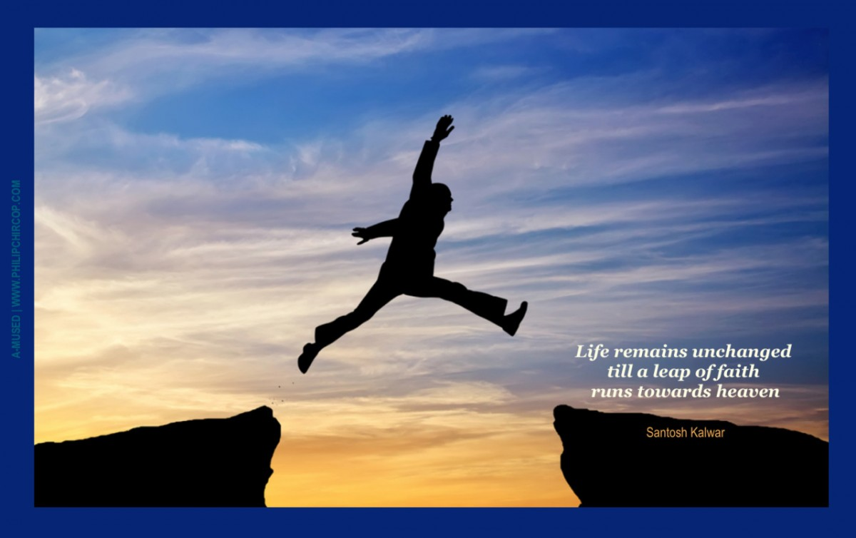 Leap Of Faith Quote 3 Picture Quote #1