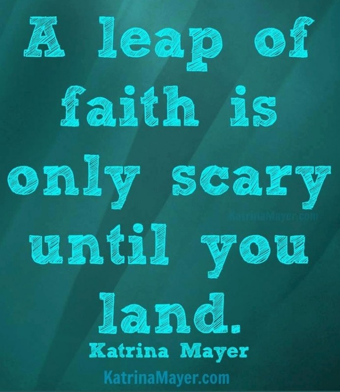Leap Of Faith Quote 10 Picture Quote #1