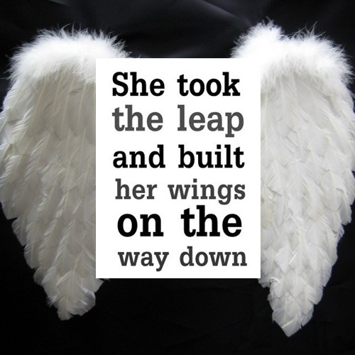 Leap Of Faith Quote 13 Picture Quote #1
