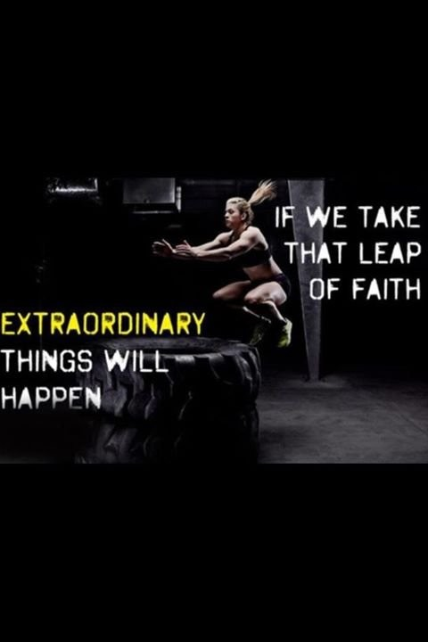 Take A Leap Of Faith Quote 1 Picture Quote #1