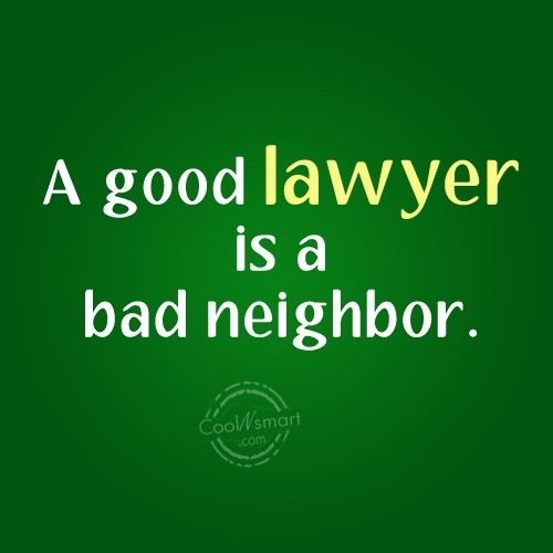 Lawyer Quote 3 Picture Quote #1