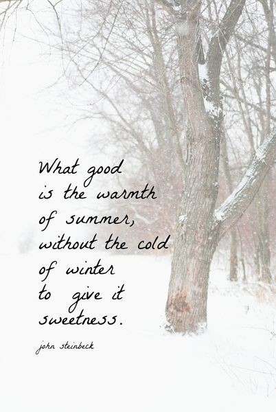 Cold Weather Quote 1 Picture Quote #1