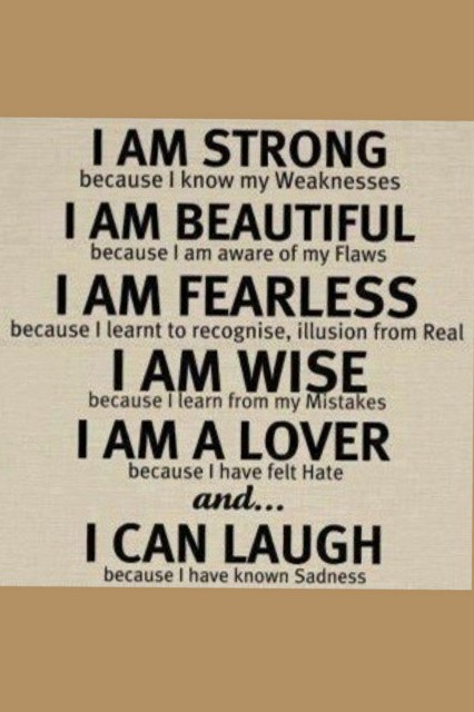 I Am Beautiful Quote 1 Picture Quote #1