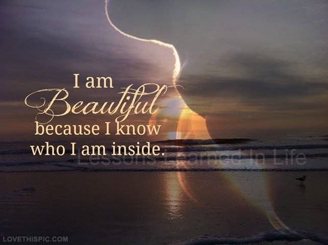 I Am Beautiful Quote 3 Picture Quote #1
