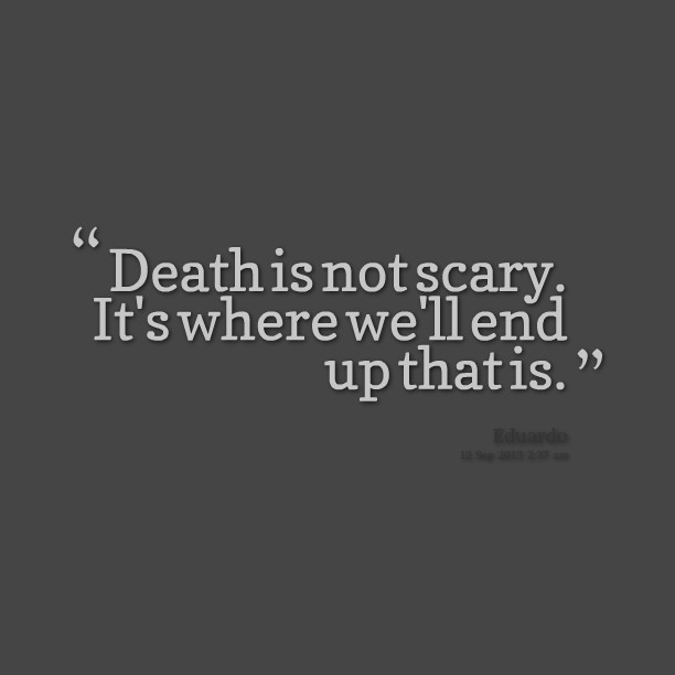 Creepy Ghost Quote 1 Picture Quote #1