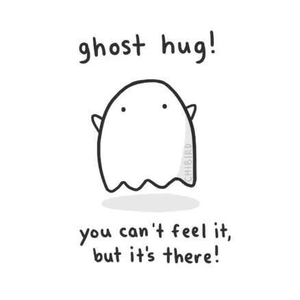 Cute Ghost Quote 2 Picture Quote #1