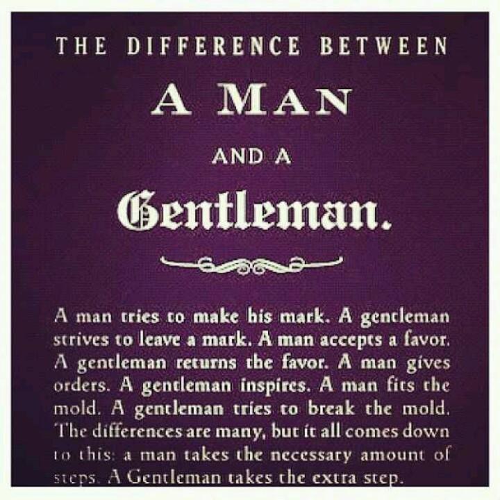 Gentlemen gentleman quote