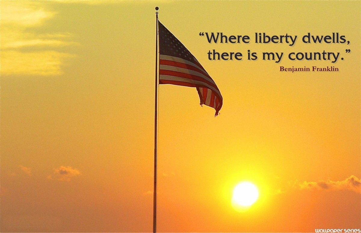 Usa Liberty Quote 1 Picture Quote #1