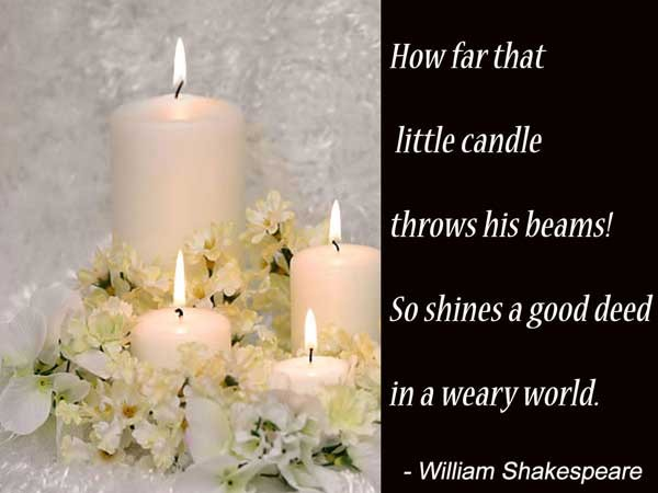 Candle Picture Quotes