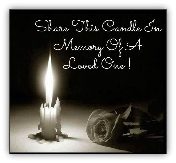 Memorial Candle Quote 1 Picture Quote #1